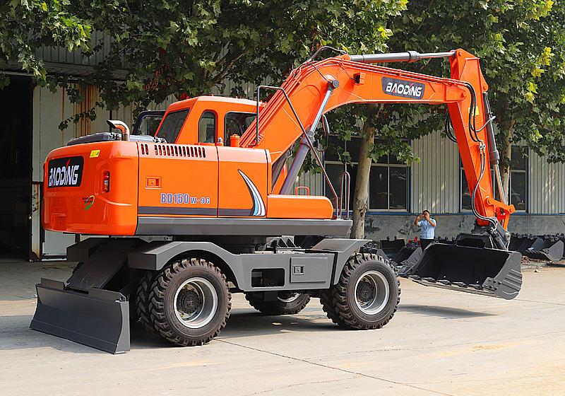 150轮式挖掘机型号
