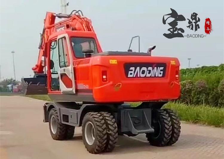 150轮式挖掘机