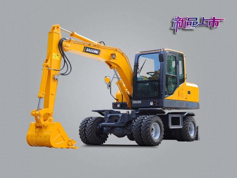 宝鼎BD80W-8A轮式挖掘机