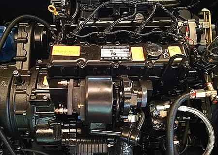 宝鼎BD95W轮式挖掘机动力部件