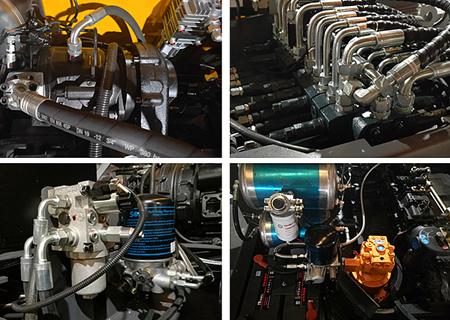 宝鼎BD95W-9A轮式挖掘机液压系统