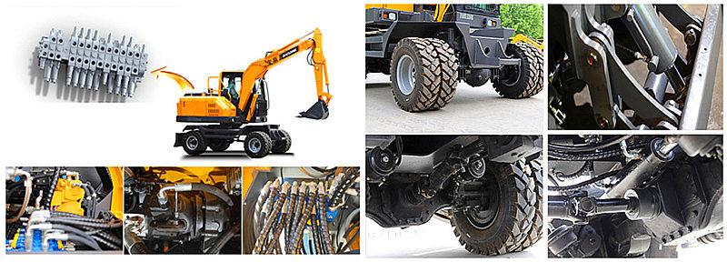 BD80W轮式挖掘机