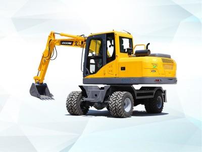 轮式挖掘机价格表之宝鼎BD80W轮式挖掘机价格推荐
