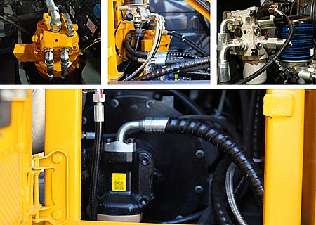 宝鼎BD80W轮胎式挖掘机液压系统