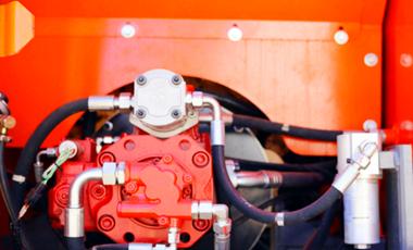 大型抓木机液压系统