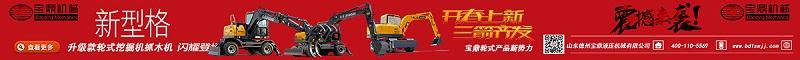 宝鼎大型轮式挖掘机抓木机厂家