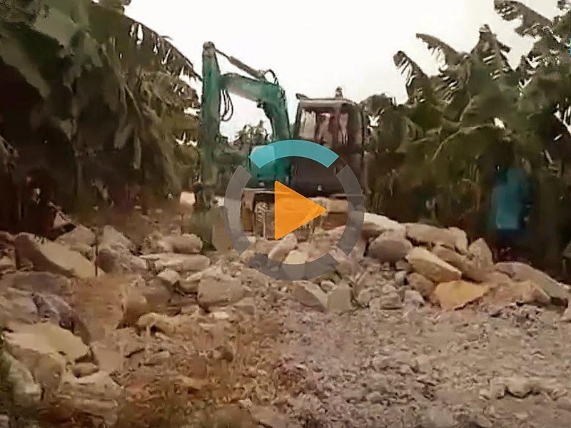 轮式挖掘机-宝鼎95轮式挖掘机型号