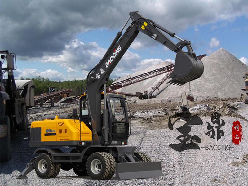 宝鼎95轮式挖掘机型号