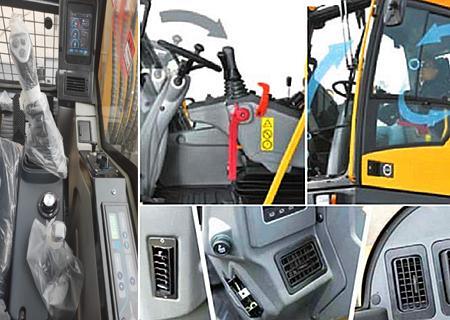 宝鼎BD80W轮式挖掘机驾驶舒适