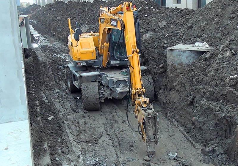 BD80W轮式挖掘机型号