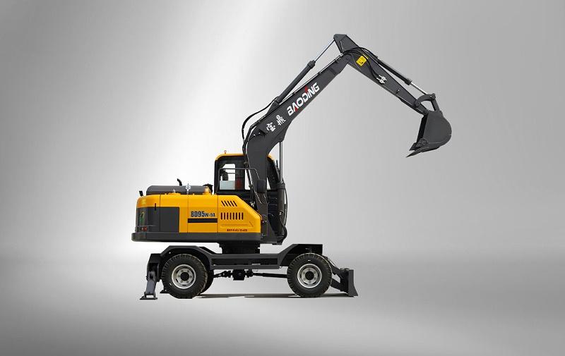宝鼎BD95W轮式挖掘机型号