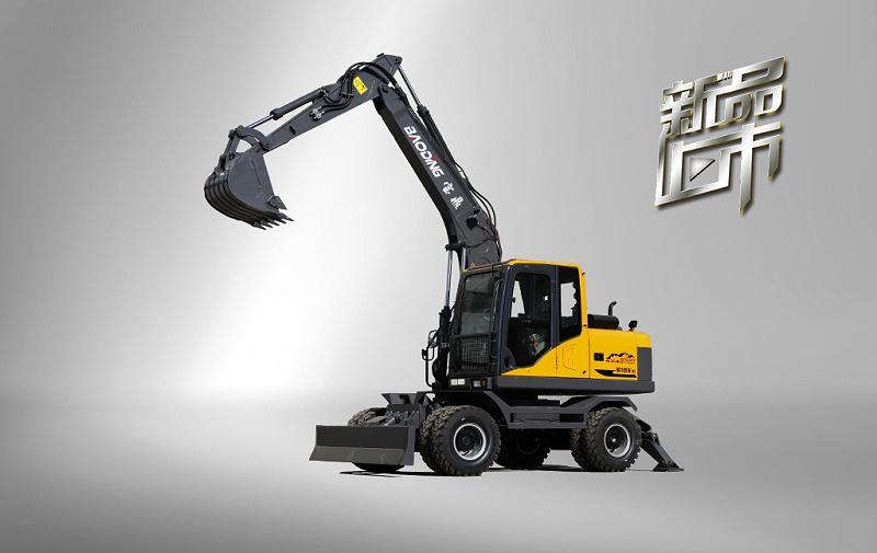 宝鼎105W轮式挖掘机