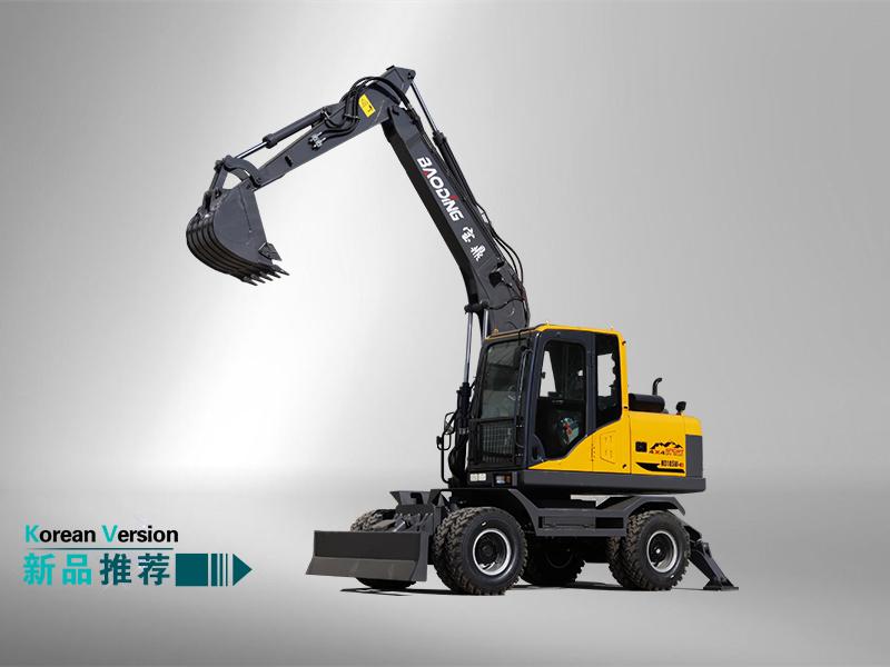105轮式挖掘机
