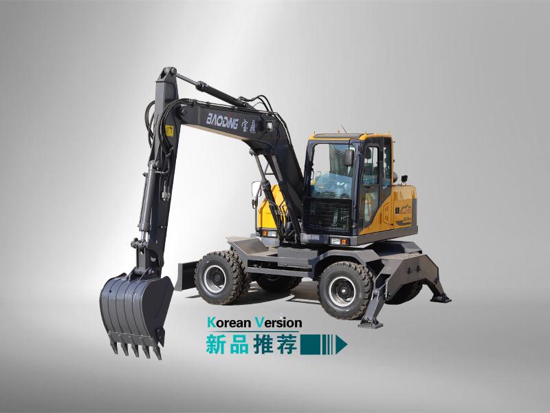 105轮式挖掘机型号