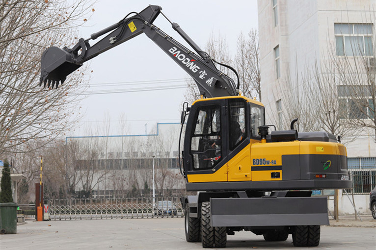 山东轮式挖掘机厂家