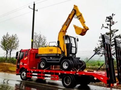 宝鼎80型号轮式挖掘机