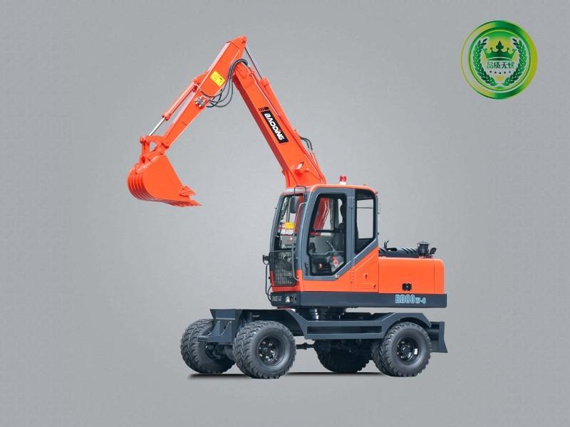 宝鼎BD80W-8C轮式挖掘机