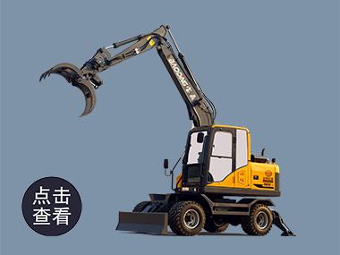 2021款宝鼎BD95W-9B轮式抓木机型号