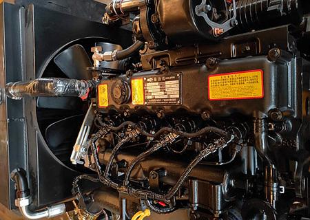 宝鼎BD95W-9G抓木机动力部件