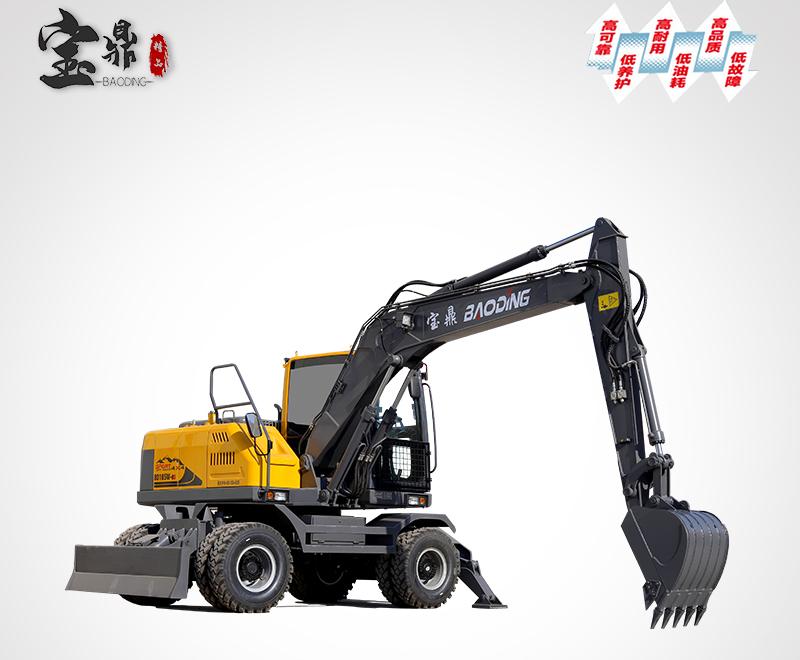 宝鼎BD105轮式挖掘机重载版型号
