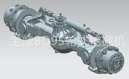专用工程机械车桥设计