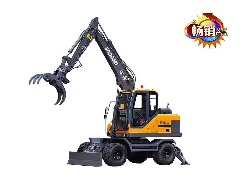 宝鼎BD95W-9A轮式抓木机